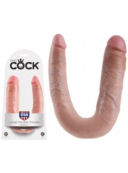 Gode Double Trouble King Cock chair Large