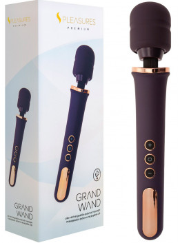Vibromasseur Rechargeable Grand Wand