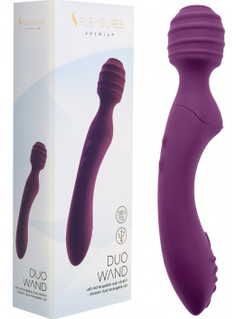 Vibromasseur Rechargeable Duo Wand Violet