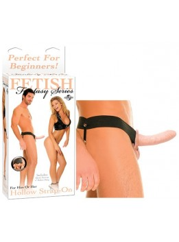 Gode ceinture creux Hollow Strap on Flesh