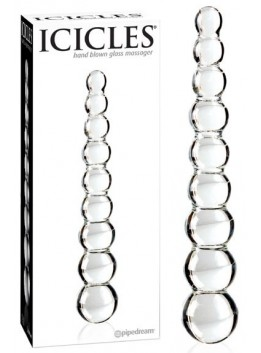 Double gode en verre Icicles No 02