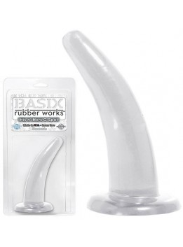 Gode transparent His and Her G-Spot - 13,5 cm